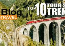 Los 10 mejores paseos en tren del mundo